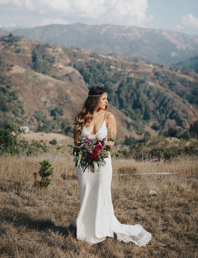 Big Sur Wedding featured on Green Wedding Shoes - Cotton and Oak